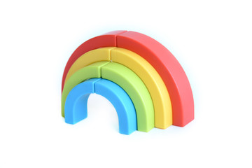 3d colourful rainbow marker pen toy