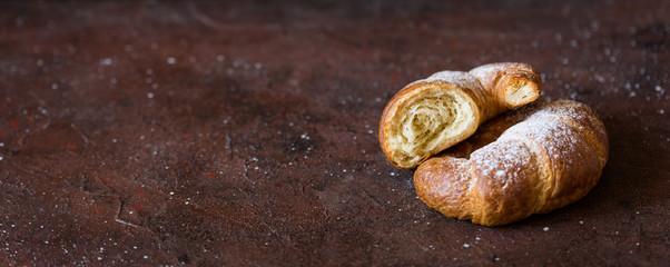 French fresh croissant © lidante
