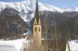 canvas print picture - Bergkirche