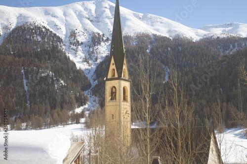 canvas print picture Bergkirche