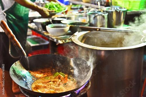 Fototapeten Bangkok Chinese street food sold in Bangkok Chinatown