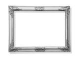 silver old frame