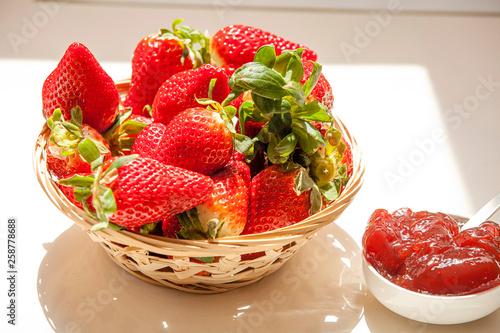 Fresh strawberries  - 258778688