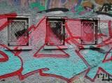 Fototapeta Fototapety dla młodzieży - Graffiti an der Hausfassade © Clarini