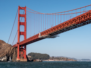 Golden Gate Bridge San Francisco Reise