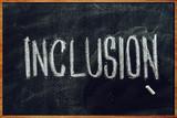 Fototapeta Coffie - Word Inclusion on school blackboard © Bits and Splits