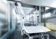 car painting conveyor automated