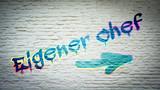Fototapeta Teenage - Schild 397 - Eigener Chef © Thomas Reimer