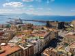Quadro Naples, Italie, vue panoramique