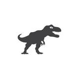 Fototapeta Dinusie - dinosaur logo vector © efri