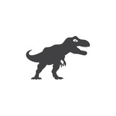 dinosaur logo vector © efri