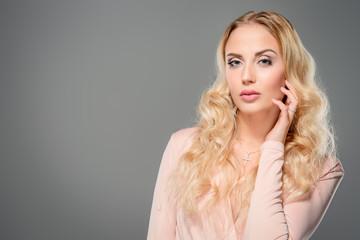 gorgeous blonde woman