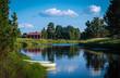 canvas print picture - Dalarna Sweden Landscape