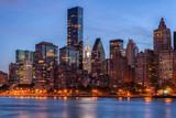 Fototapeta Fototapeta Nowy Jork - Midtown Manhattan Twilight - New York City © alon