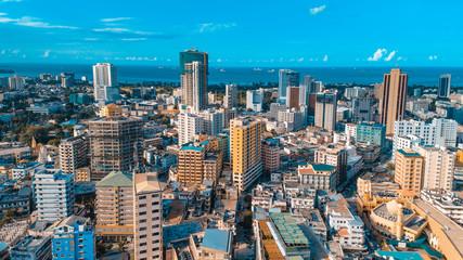 Dar es Salaam city scape