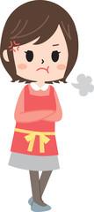 Angry mother © yurikoroma(ゆりころま)