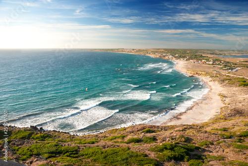 canvas print picture Spiaggia di San Giovanni di Sinis, Sardegna, Italia