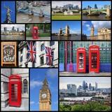 London UK collage