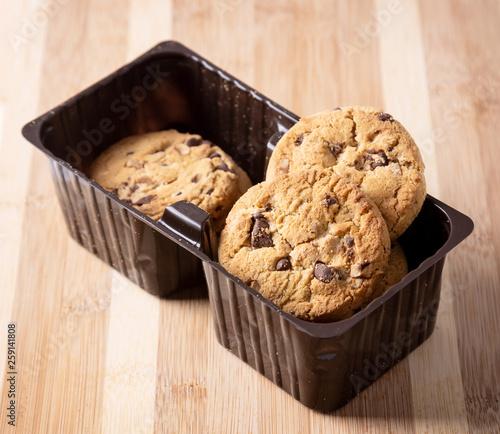 Cookies aux pétpites de chocolat et noisettes © Vely