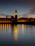 Fototapeta Fototapeta Londyn - UK, england, London, Big Ben sunset © charles