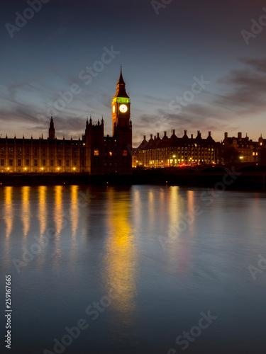 UK, england, London, Big Ben sunset