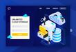 Unlimited Cloud Storage Website