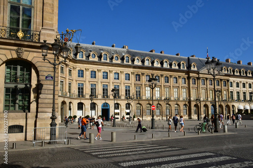Paris; France - august 4 2018 : Place Vendome © PackShot