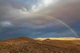 Fototapeta Tęcza - rainbow over the valley © Shay