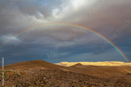 rainbow over the valley © Shay