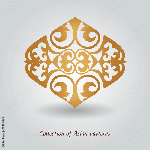 east asian pattern © happyluckygirl