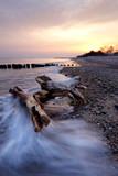 Fototapeta Room - Wschód słońca nad  Morzem Bałtyckim. © Konrad Uznański