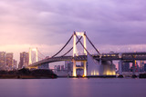 Tokyo Skyline From Across The Bay