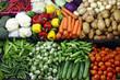 various organic vegetables, farmers market - 259331435