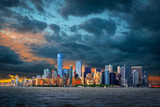 Fototapeta Fototapeta Nowy Jork - View to Manhattan, New York City, USA  © pure-life-pictures