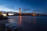 One night at the Golden gate bridge