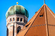 canvas print picture Famous Munich Cathedral - Liebfrauenkirche