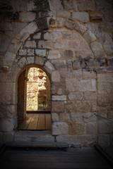 Castillo, ruina fortaleza en Zamora España