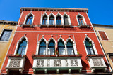 glimpses of historic buildings, Venice Italy