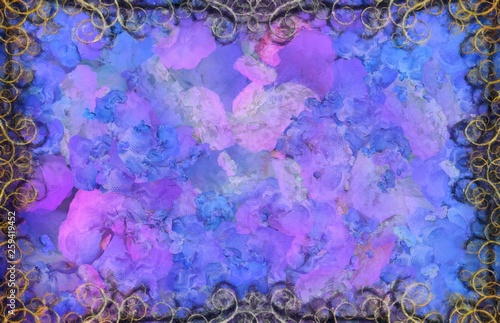 Purple strokes © rolffimages