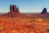 Beautiful Landscape, Monument Valley Navajo Tribal Park.