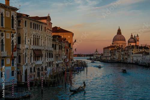 fototapeta na ścianę Venedig im Abendrot