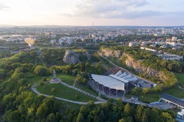 Poland, Kadzielnia Amphitheater in Kielce