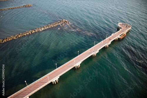 Pier of Marina di Massa Italy © fotografiche.eu