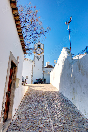 Tavira, picturesque village in Southern Portugal © mehdi