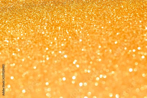 golden glitter abstract background - 259528483