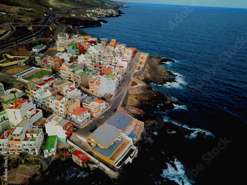 canvas print picture Tenerife - Amazing Air Photography from Tenerife