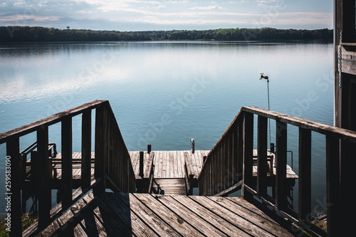 Acrylglas Pier Wooden Dock