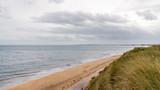 North Sea Coast and the beach near Druridge Bay in Northumberland, England, UK