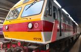 Modern train Bangkok Thailand for passengers transportation