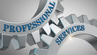 Leinwandbild Motiv Professional services concept